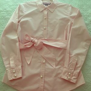 Pearly & Preppy: Vineyard Vines shirt with bow!